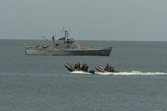 La Armada mejora su inteligencia y controles en los puertos del río Uruguay. Foto: D. Borrelli