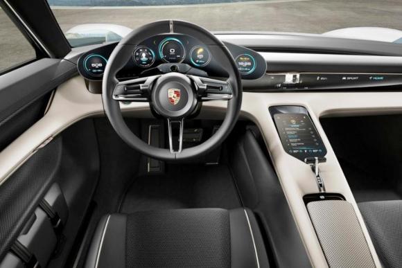 Porsche Mision E. Foto: Archivo El País.