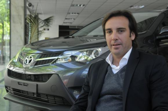Alejandro Curcio. Vicepresidente del Grupo Ayax. (Foto: Ariel Colmegna)