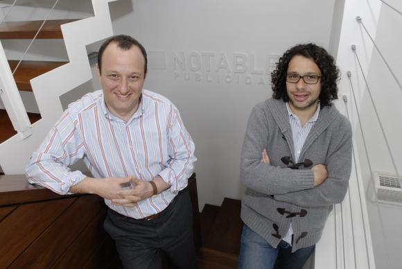 Dupla. Stein y Lev se llevaron los máximos premios a la publicidad digital. (Foto: Archivo El País)