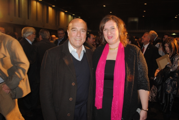 Daniel Martínez, embajadora de Israel Nina Ben-Ami.