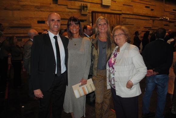 Eduardo Piz, Marcela y Andrea Bonomi, Edith Wieder.