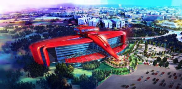 Ferrari abrirá un hotel temático en PortAventura a partir de 2016, junto con su propio parque temático, Ferrari Land, que ocupará 75.000 metros cuadrados de superficie.