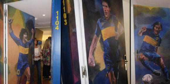 En 2012 el Boca Junior abrió las puertas de su hotel en Buenos Aires, obra del arquitecto Carlos Ott.