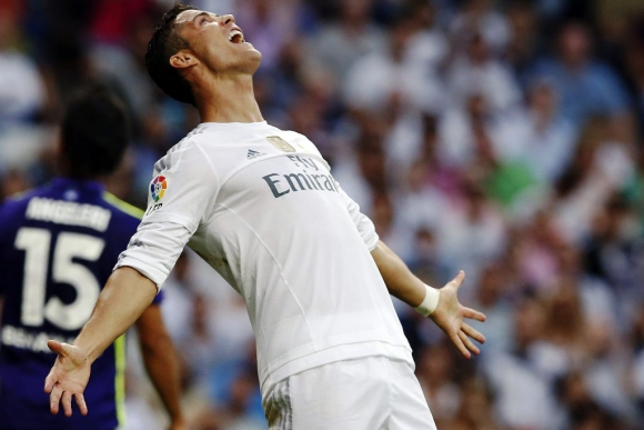 Cristiano Ronaldo, crack portugués del Real Madrid. Foto: EFE.