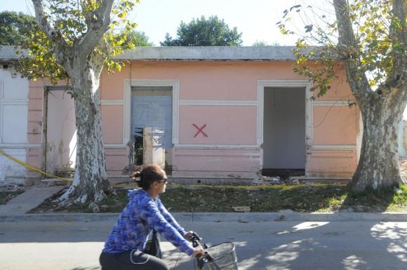 Demolición barrio Siete Manzanas. Foto: L.Carreño