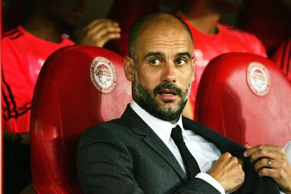 Pep Guardiola, entrenador del Bayern de Múnich. Foto: EFE