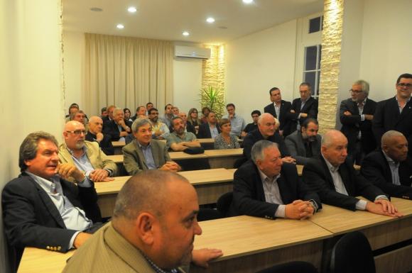 La nueva sala de asambleas de la FUBB. Foto: L. Carreño