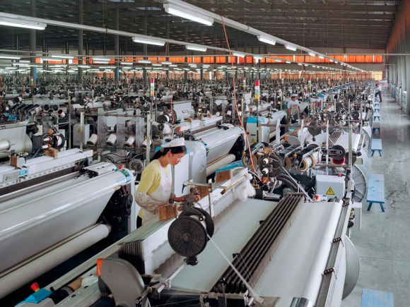 Ociosa. La industria china tiene mucha capacidad disponible. Foto: Archivo.