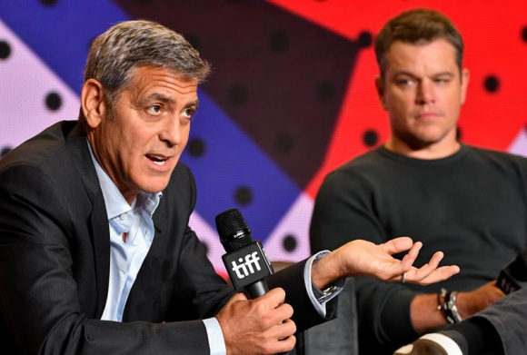 George Clooney y Matt Damon