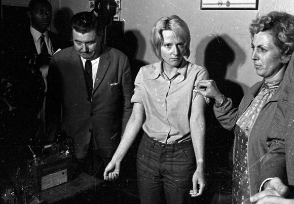 Lucía Topolansky en la década del 70. Foto: Archivo El País