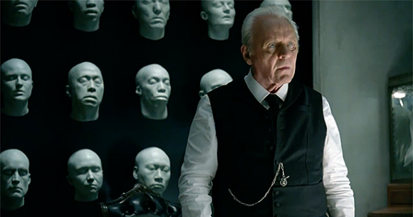 Anthony Hopkins en Westworld
