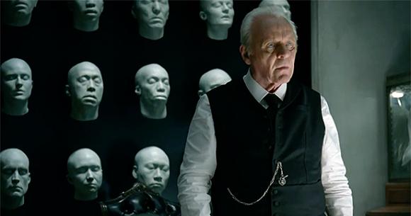 Anthony Hopkins en Westworld