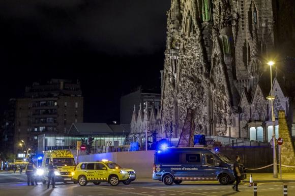 Catedral: era un objetivo para los que atentaron en Barcelona. Foto: EFE