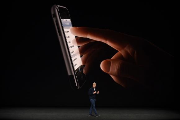 El iPhone X, es la versión más avanzada hasta el momento. Foto: AFP