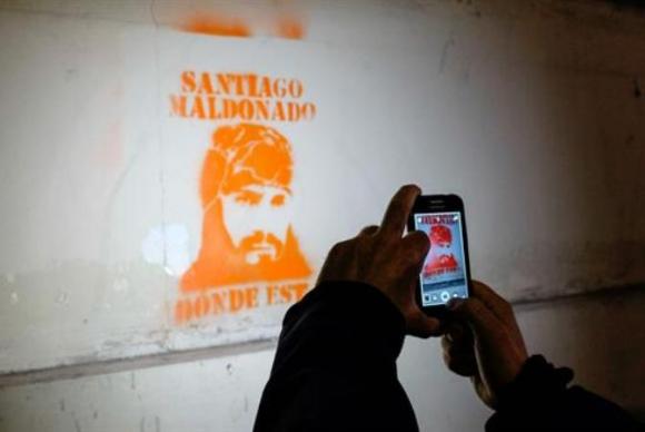 Continúa la búsqueda de Santiago Maldonado. Foto: La Nación.