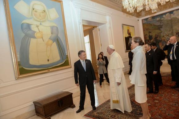 El Papa observa