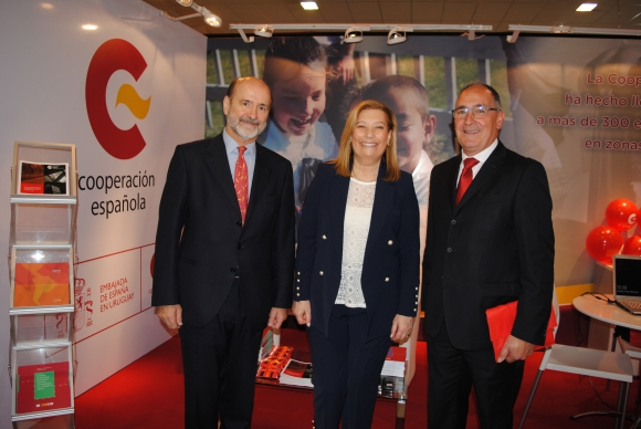 Jaime Lorenzo, Carmen Miranda, Fernando Vidal.