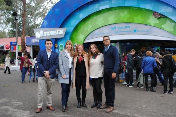 Gonzalo Ferrando, Lucía Barbosa, Virginia Rico, Milagros Cassarino, Alexis Ayarza.