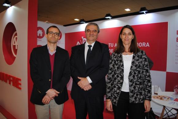 Aurelio Pastori, Héctor Balbuena, Isabel Angenscheidt.