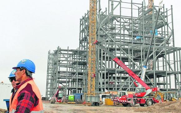 La construcción generará 8.000 puestos de trabajo. Foto. Archivo