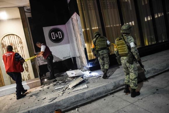Terremoto en México. Foto: AFP