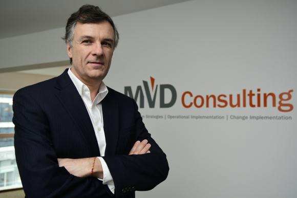 <b>Mario Tucci</b>, socio y cofundador de MVD Consulting. (Foto: Marcelo Bonjour)