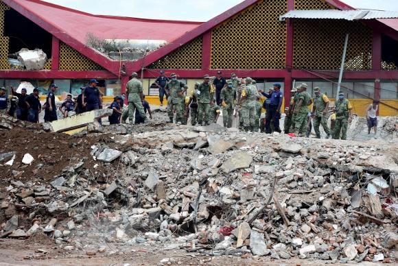 Oaxaca, estado mexicano donde el sismo causó la mayor cantidad de víctimas. <br>Foto: AFP