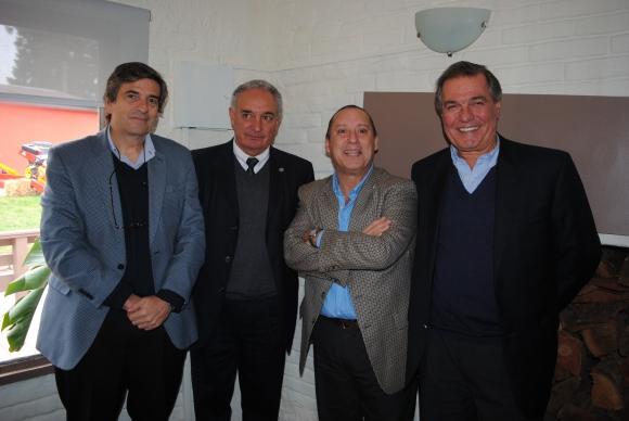 Guillermo Scheck, Pablo Zerbino, Pablo Mestre, Gerardo Zambrano.