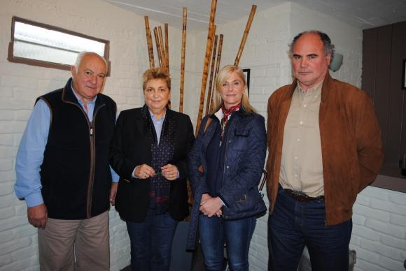 Luis Fernández, Andrea Abella, Caroline Clark, Álvaro Díaz Nadal.
