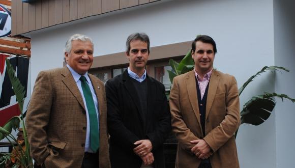 Martín Gortari, Javier Aznárez, Rodrigo Fernández.