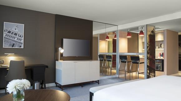Hyatt, Las habitaciones Long Stay están diseñadas apuntando a este perfil de clientes. (Foto: Gentileza Hyatt Centric)
