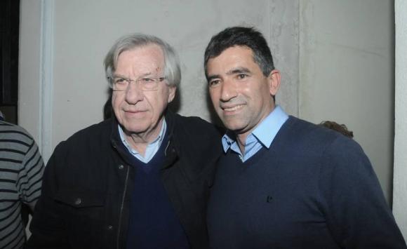 2014. Sendic y y el entonces vicepresidente Danilo Astori, luego ministro de Economía. Foto: Archivo El País.
