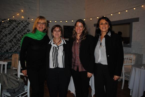 Ofelia Ferraz, Beatriz Tuch, Cecilia Ottino, Anabella Negrin.