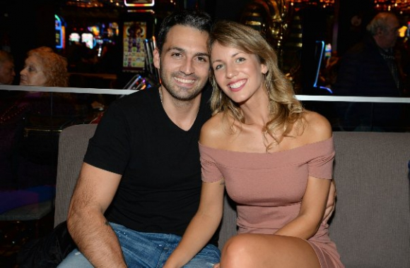 Andy Vila junto a su novio, Emiliano