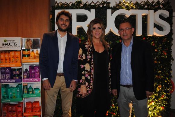 Diego Sariotte, Karina Porteiro, Ricargo Gutiérrez.