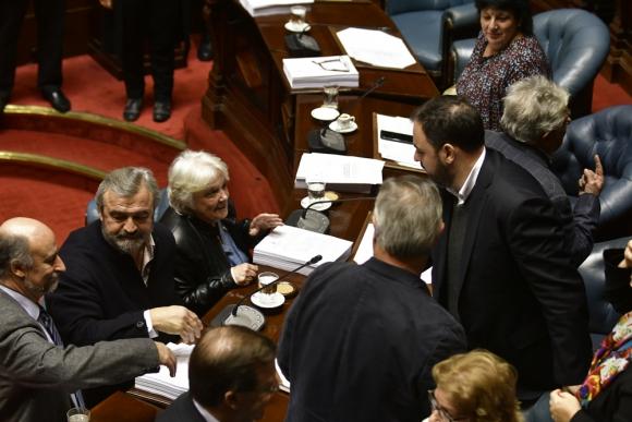 La Asamblea General ayer. Foto: Archivo El País
