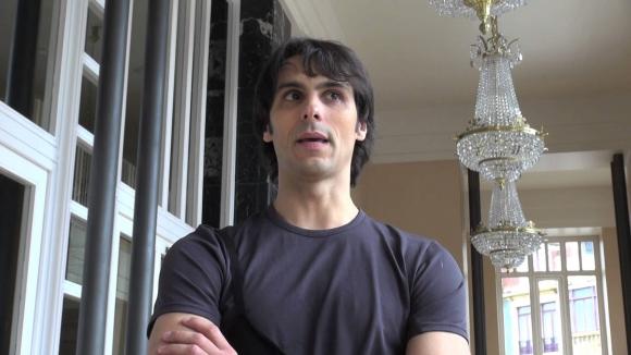 El bailarín español Igor Yebra