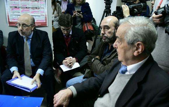 Comenzó el juicio de José Coya contra el periodista Daniel Isgleas y el diario El País. Foto: Marcelo Bonjour.