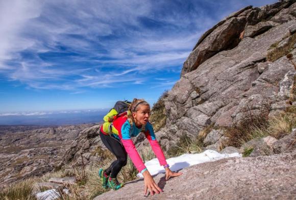 Lali Moratorio organiza la primera carrera de trail solo para mujeres. Foto: Diego Winitzky
