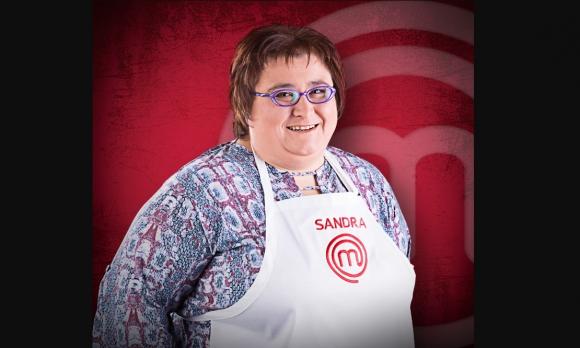 Sandra de Masterchef: Foto: Canal 10
