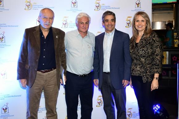 Pablo Vierci, Roberto Canessa, Ricardo Méndez, Sandra Marcos.