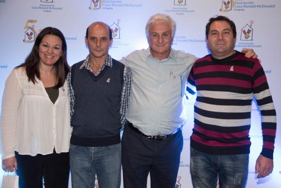 Marcela Girardelli, Gerardo Garabaño, Roberto Canessa, Marcelo Musselli.