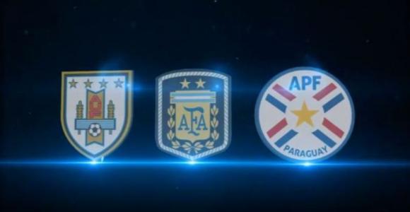 Conmebol armó un video promocional del Mundial 2030 e incluyó a Paraguay. Foto: Captura