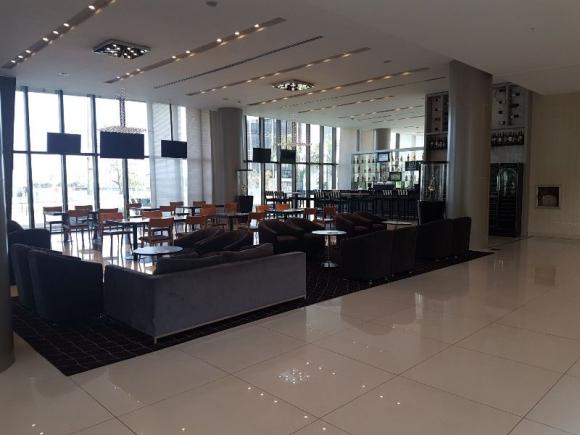 El Hotel Bourbon de Asunción, aquí se alojará Uruguay. Foto: Daniel Rosa