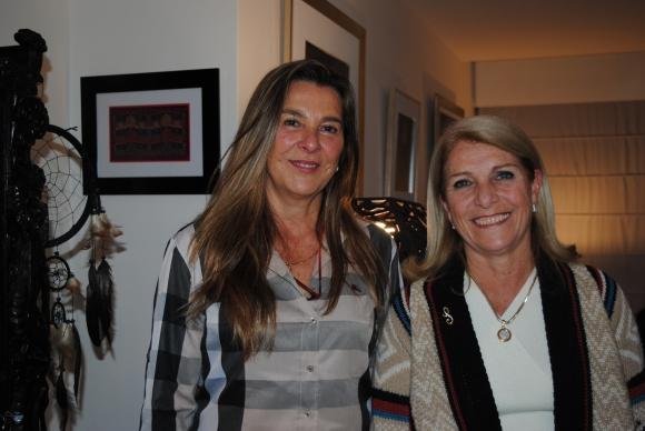 Dolores Rey, Silvia Moreno de Rusiñol.