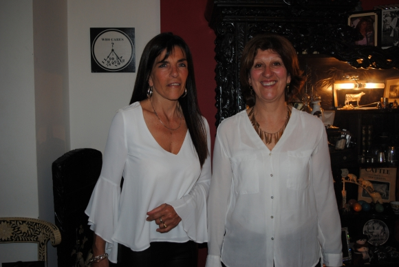Laura Algorta, Nancy Chappe.