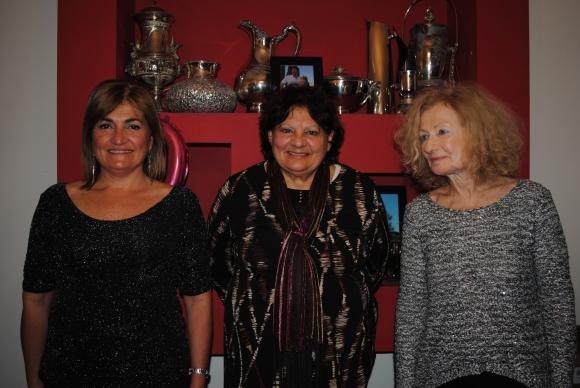 Rosina Algorta, Luciana Maiorano, Lidia Weissman.