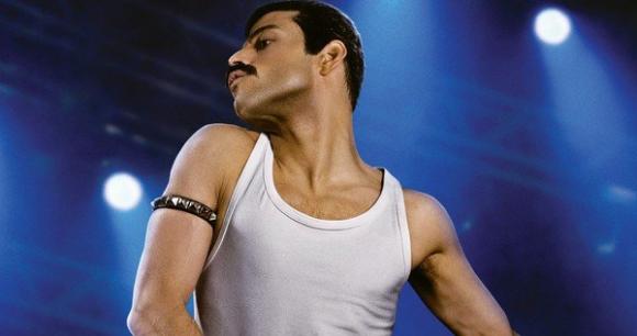 Rami Malek como Freddie Mercury. Foto: Entertainment Weekly