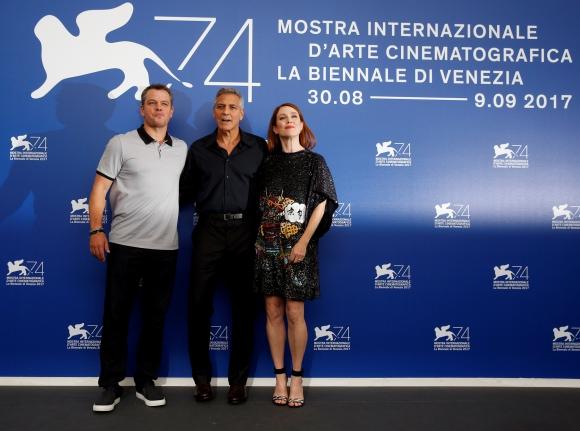 George Clooney en Venecia. Foto: Reuters